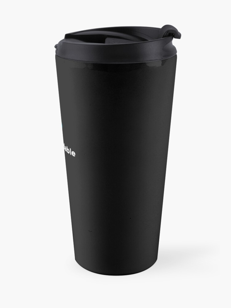 Alternate view of Totally Codable - Official Travel Mug