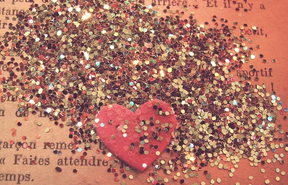 Vintage Heart by angelandspot
