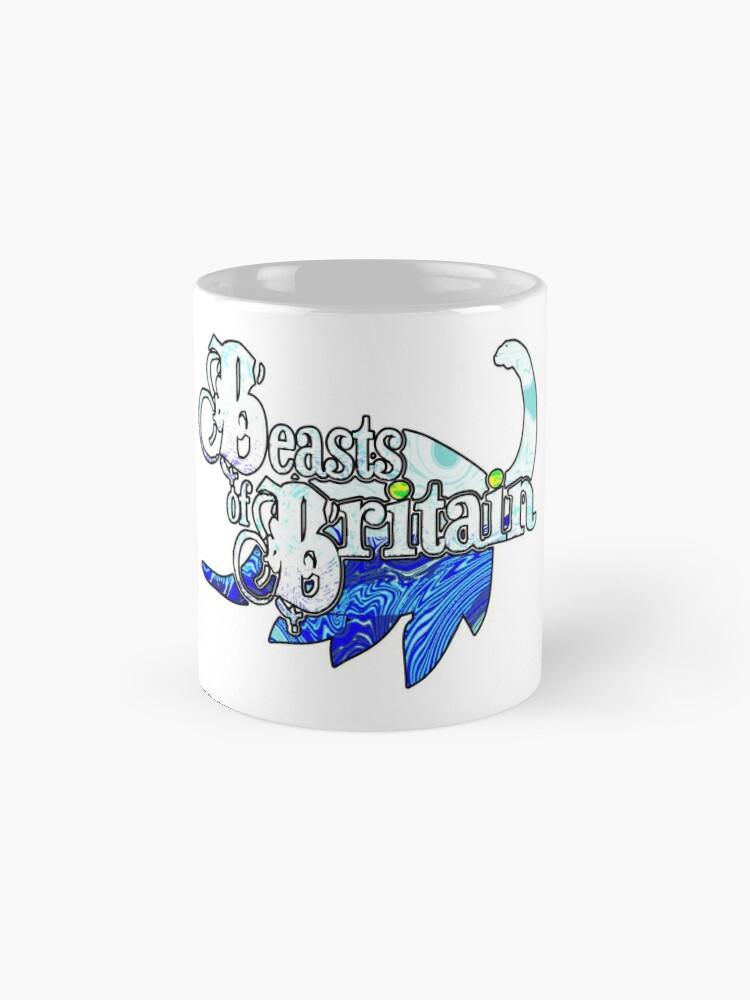 Alternate view of Beasts of Britain - Ice Blue Classic Mug