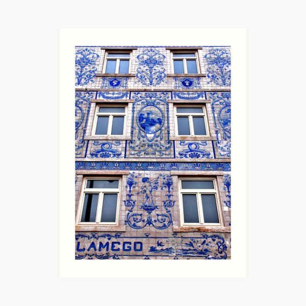 Windows of Lisbon Art Print