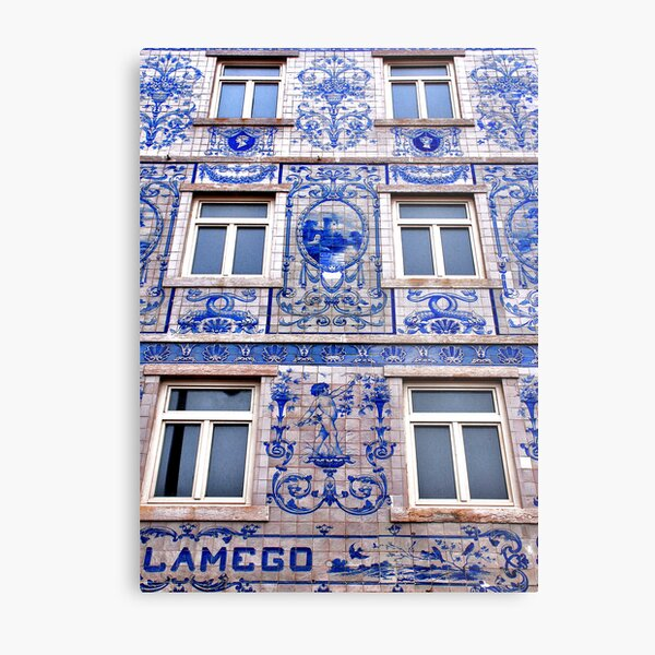 Windows of Lisbon Metal Print