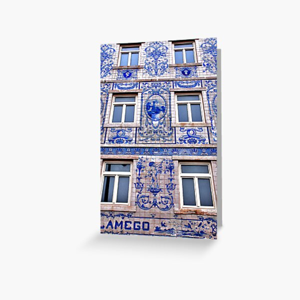 Windows of Lisbon Greeting Card