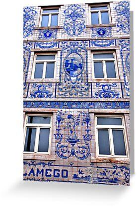 Windows of Lisbon by Adri  Padmos