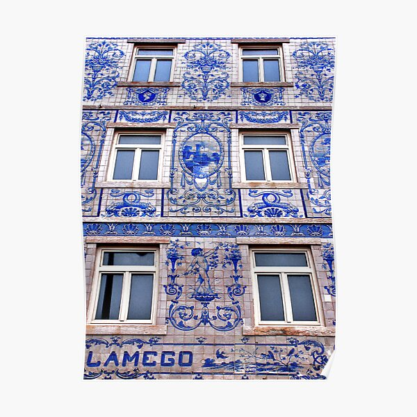 Windows of Lisbon Poster