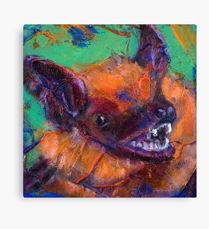 Earth Keeper: Big Brown Bat Canvas Print