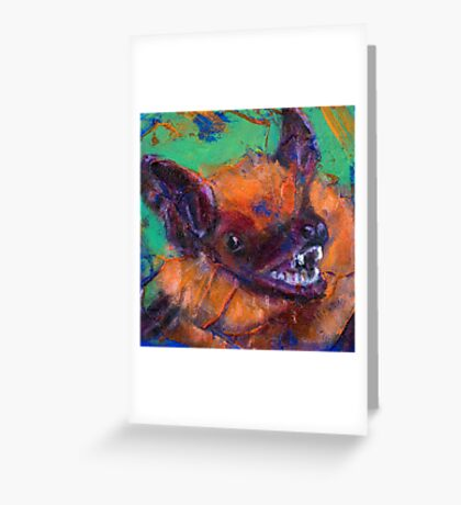 Earth Keeper: Big Brown Bat Greeting Card