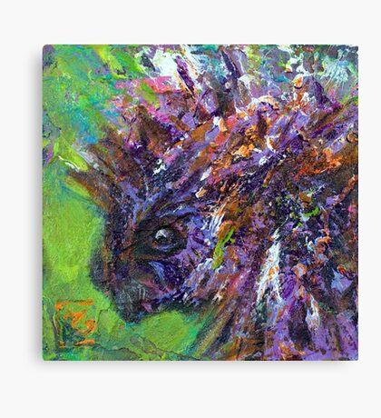 Earth Keeper: Porcupine Canvas Print