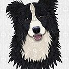 Happy Border Collie by artlovepassion