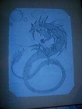 """Serpant Dragon"" by TabiButterfli"