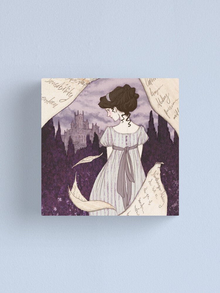 Alternate view of Northanger Abbey Canvas Print