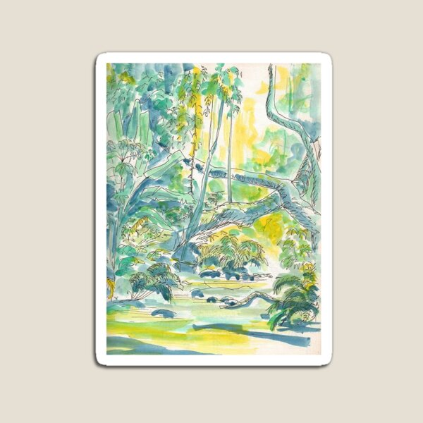 Montaine Rainforest by Sophie Neville - Magnet