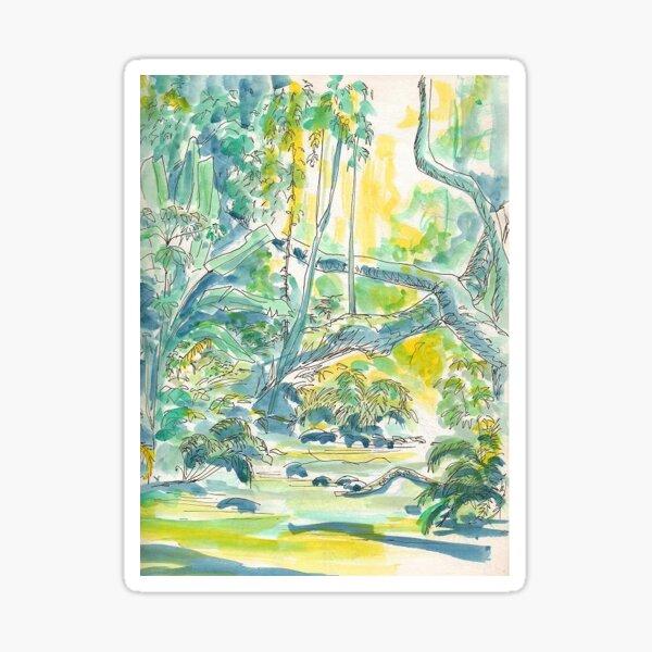 Montaine Rainforest by Sophie Neville - Sticker