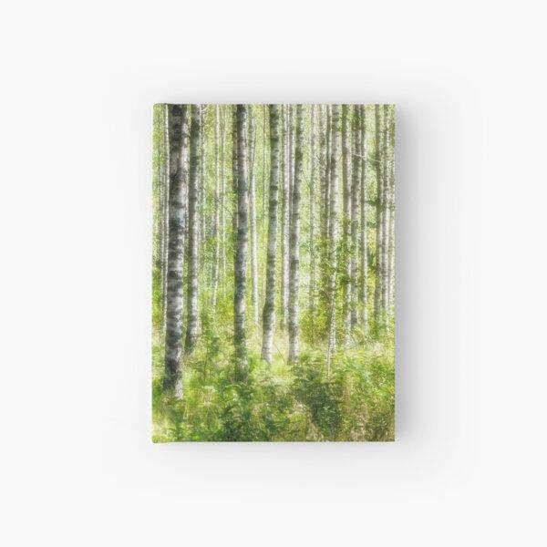 White birches Hardcover Journal