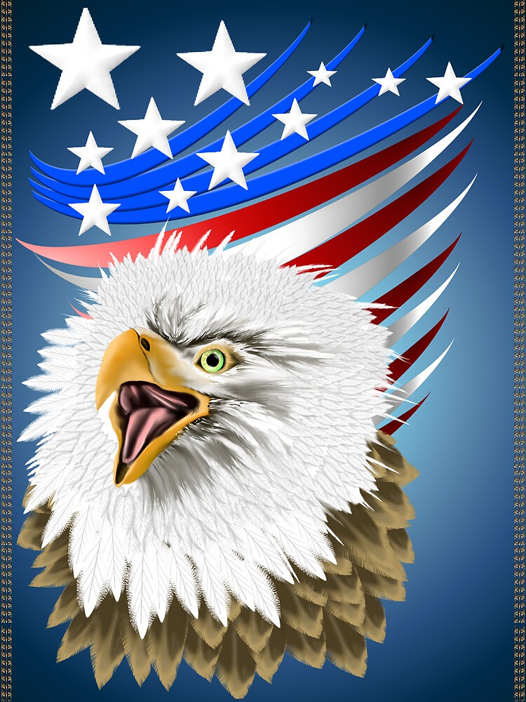 Flag N Eagle by Lotacats