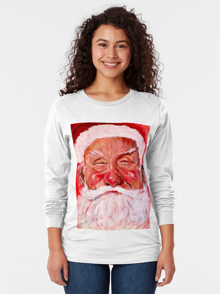 Alternate view of Santa Claus Long Sleeve T-Shirt