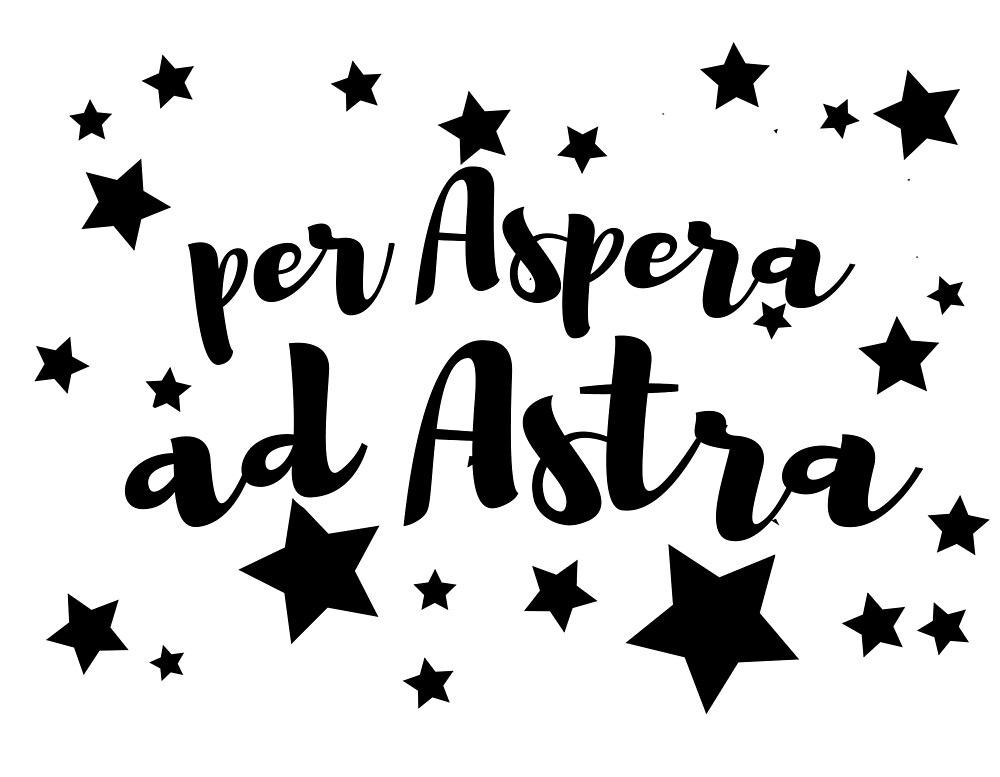 Frasi Belle One Piece.Per Aspera Ad Astra By Fede2punto0 Redbubble