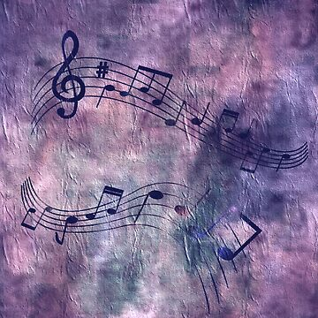 Abstract music 18B by Jamcolors