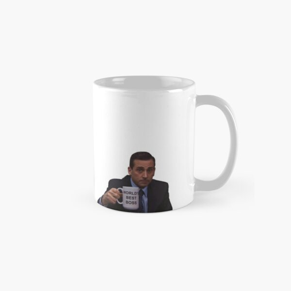 Michael Scott World's Best Boss Mug Classic Mug