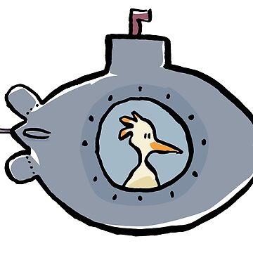 submarine by greendeer