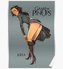 Asha Greyjoy Poster