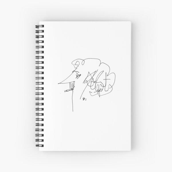 Kurt Vonnegut Signature Spiral Notebook
