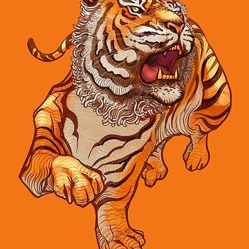 Tiger Roar Grin by machmigo
