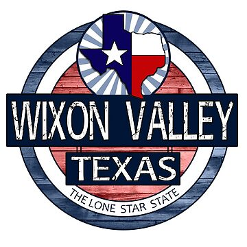 Wixon Valley Texas rustic wood circle by artisticattitud