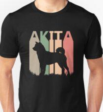 Akita Dog Silhouette Unisex T-Shirt