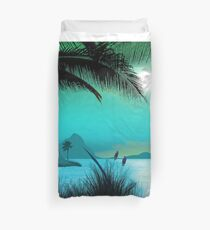 Hawaiian Islands Duvet Cover