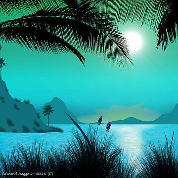Hawaiian Islands by EdmondHoggeJr