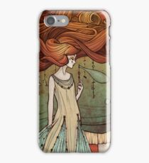The tight-rope walker iPhone Case/Skin