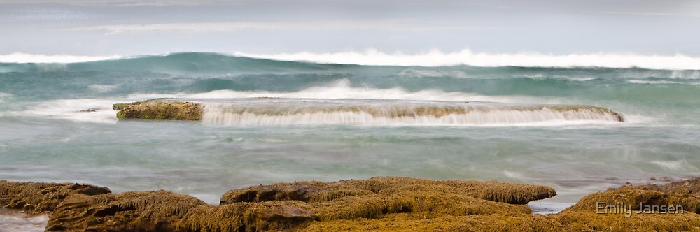 Water Colour Waves, Blairgowrie by Emily Jansen