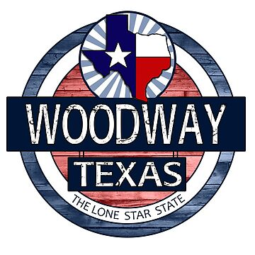Woodway Texas rustic wood circle by artisticattitud