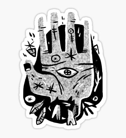 Lend a Hand Sticker