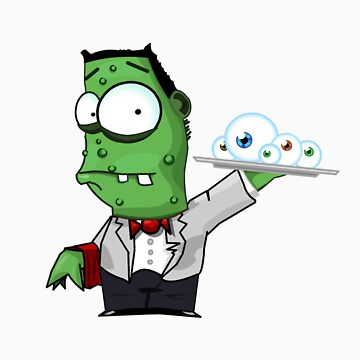 Zombie Waiter by fastpaolo