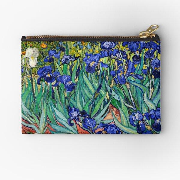 Irises by Vincent van Gogh Zipper Pouch