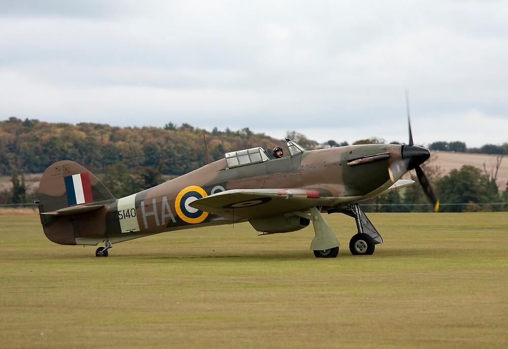 Hawker Hurricane flown by Anna Walker by PhilEAF92