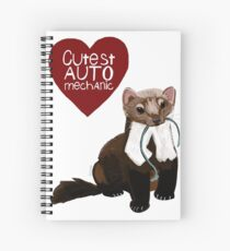 Cutest auto mechanic Cuaderno de espiral