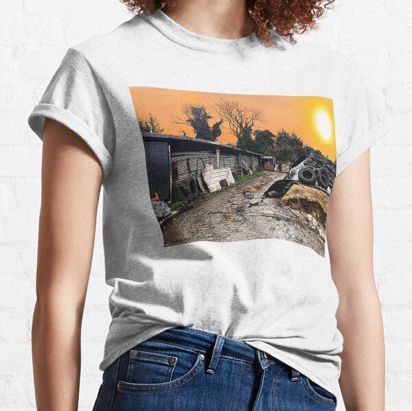 Irish Farm Life - Comic style Classic T-Shirt