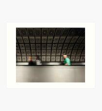 U-Bahnhof Waterloo Kunstdruck