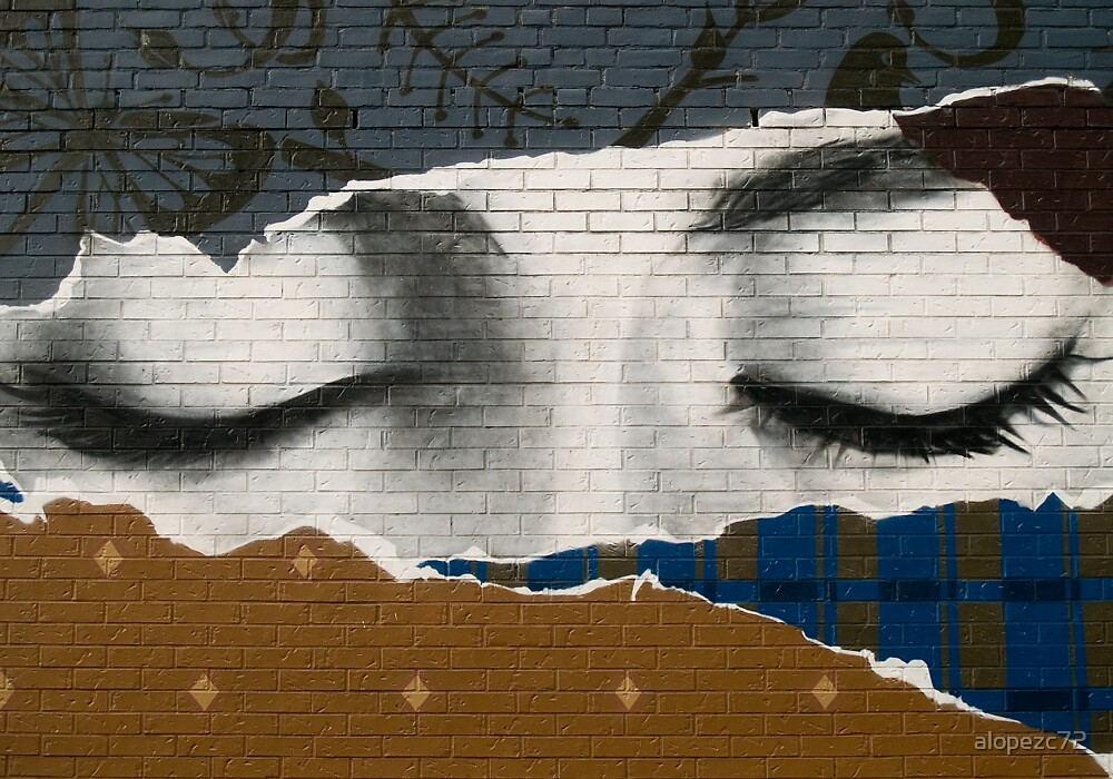 Eyes on the wall by alopezc72