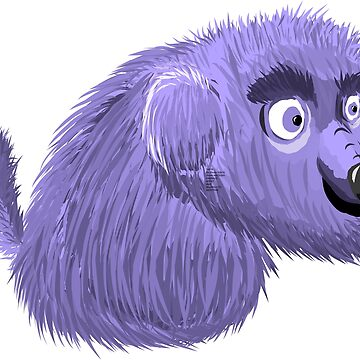 Baby Blue Dog by niry
