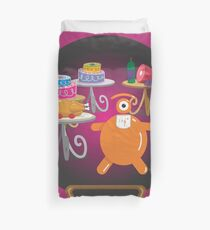gluttony look Duvet Cover