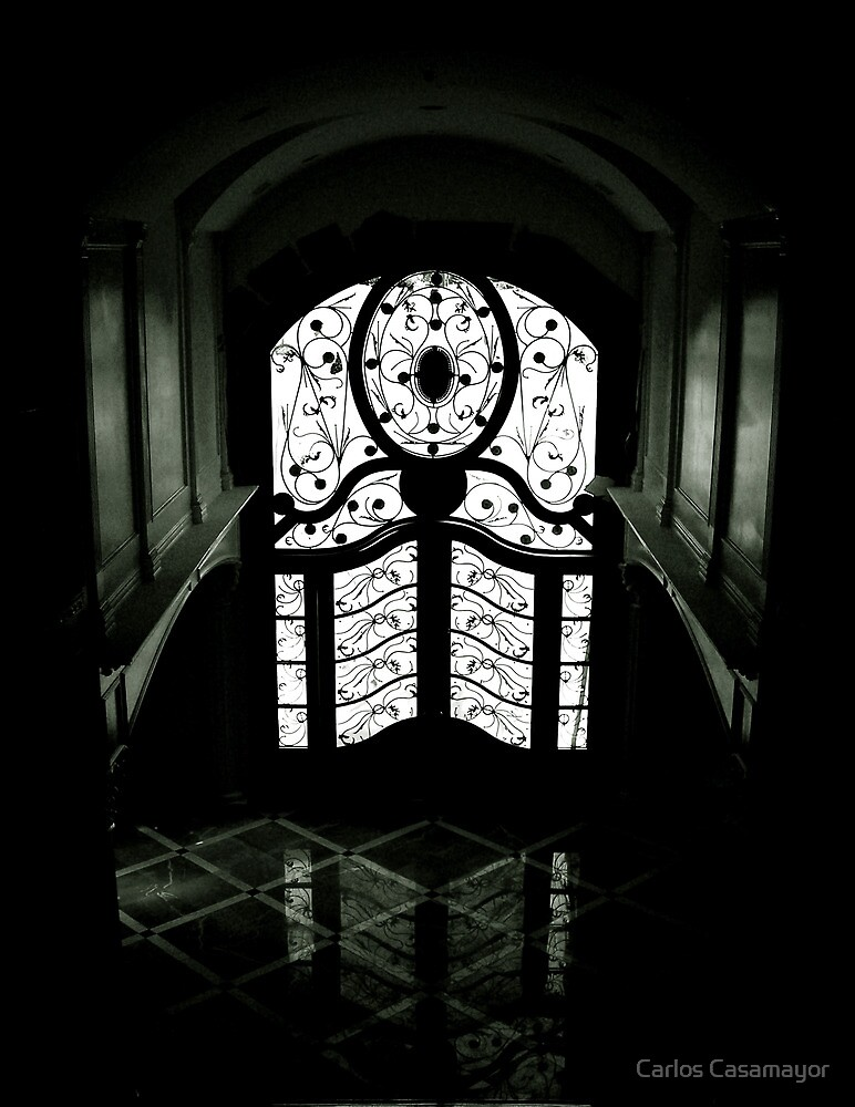behind the door by Carlos Casamayor