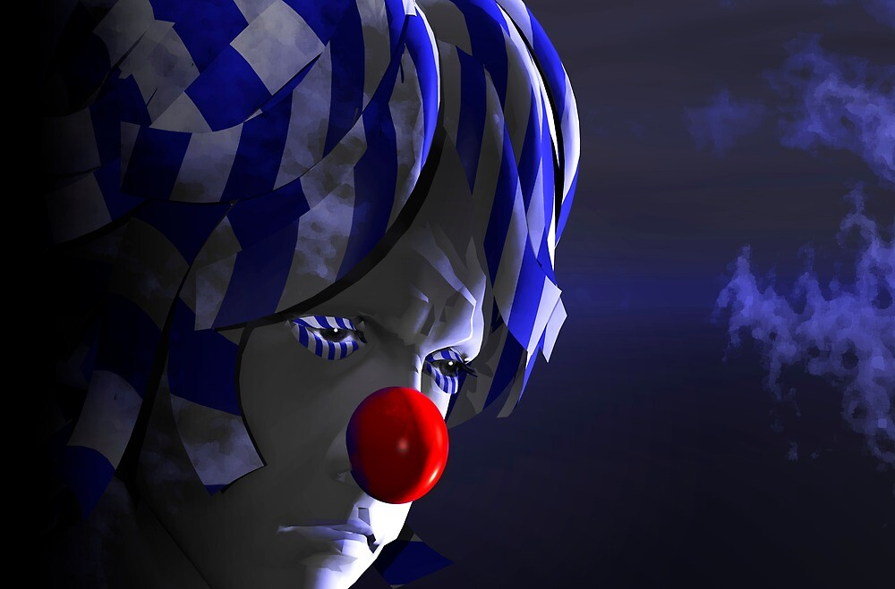 Even clowns get the blues #2 by Carol and Mike Werner