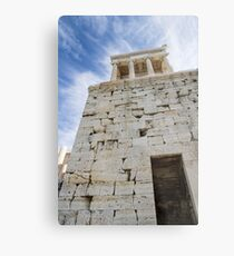 Acropolis Stones Metal Print
