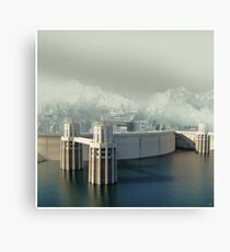 Hoover Dam Canvas Print