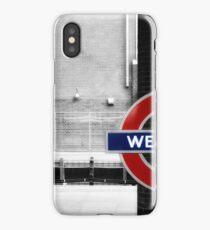 West Ham Tube Station iPhone Case/Skin