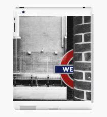 West Ham Tube Station iPad Case/Skin