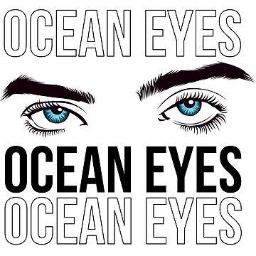 Ocean E Y E S - Billie E by DalyRincon